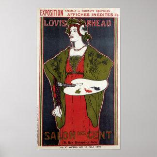 Louis Rhead ~ Salon des Cent Poster