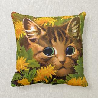 LOUIS WAIN CAT PILLOW