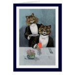 Louis Wain - Cats in Tuxedos - Cute Vintage Art