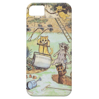 Louis Wain -Funny Cats iphone5 case