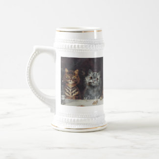 LOUIS WAIN KITTY BACHELOR PARTY BEER STEINS