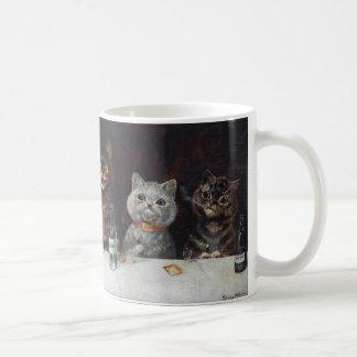 "Louis Wain ""The bachelor party"" Coffee Mug"