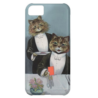 Louis Wain's Cat's Night Out - Cute Vintage Cats iPhone 5C Case