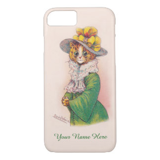 Louis Wain's Fashionista Cat - Customizable Case