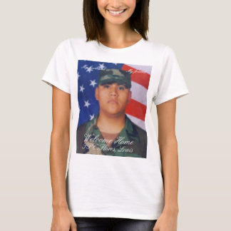 louis, Welcome Home, SPC.Flores, Louis, My husb... T-Shirt