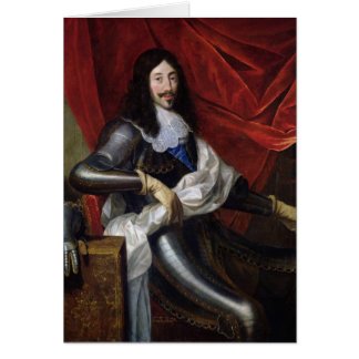 Louis XIII  King of France and Navarre Greeting Card