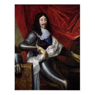 Louis XIII  King of France and Navarre Postcard