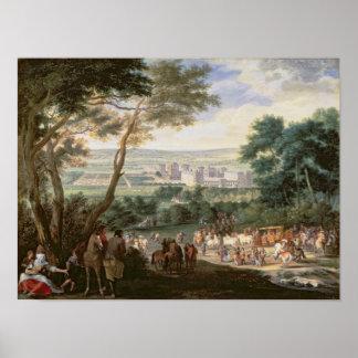 Louis XIV  at Vincennes Poster