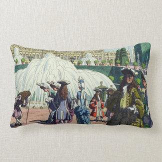 Louis XIV 'Gentry @ Versailles - Pierre Brissaudin Lumbar Cushion