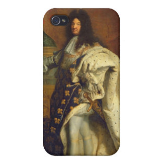Louis XIV in Royal Costume, 1701 iPhone 4 Covers