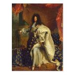 Louis XIV in Royal Costume, 1701 Postcard