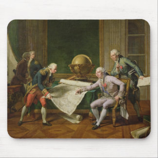 Louis XVI  Giving Instructions to La Perouse Mouse Pad