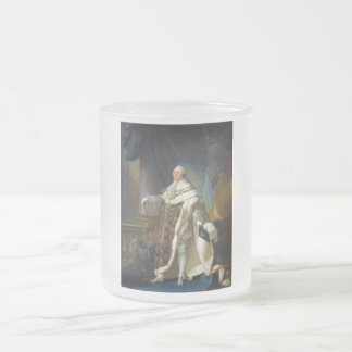 Louis XVI King of France and Navarre (1754-1793) Frosted Glass Mug