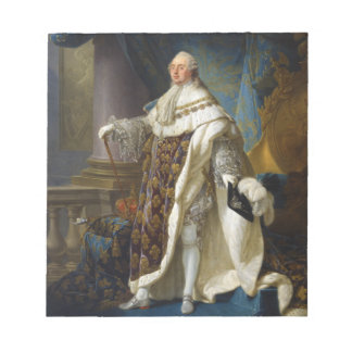 Louis XVI King of France and Navarre (1754-1793) Note Pads