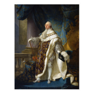 Louis XVI King of France and Navarre (1754-1793) Postcard