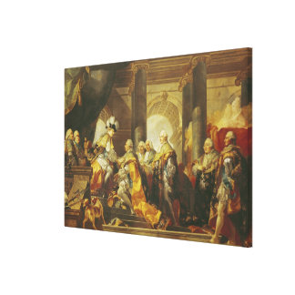 Louis XVI  King of France Gallery Wrapped Canvas