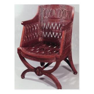 Louis XVI style armchair Postcard