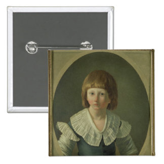 Louis XVII aged 8 at the Temple 1793 Pinback Button