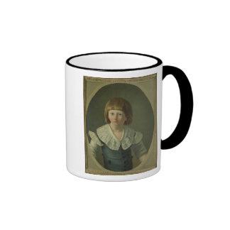 Louis XVII  aged 8, at the Temple, 1793 Mug
