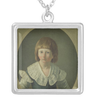 Louis XVII  aged 8, at the Temple, 1793 Pendants