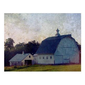 Louisa County Barns Postcard