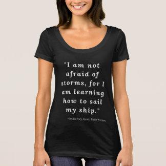 Louisa May Alcott, Little Women Quote #2 T-Shirt