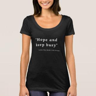 Louisa May Alcott, Little Women Quote #5 T-Shirt