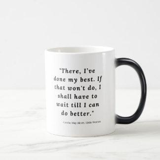 Louisa May Alcott, Little Women Quote #6 Magic Mug