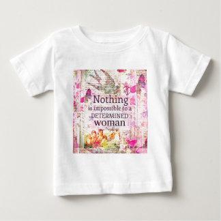 Louisa May Alcott WOMAN quote Baby T-Shirt