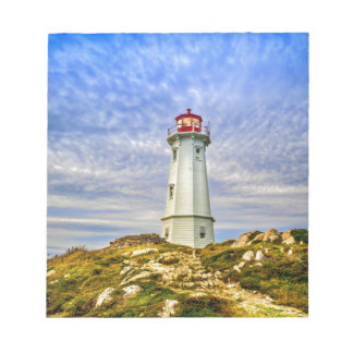 Louisbourg Lighthouse Notepad