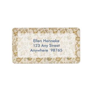 Louise Address Label