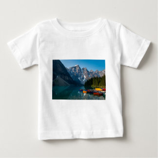 Louise lake in Banff national park Alberta, Canada Baby T-Shirt