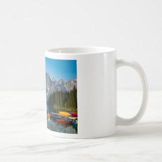 Louise lake in Banff national park Alberta, Canada Coffee Mug