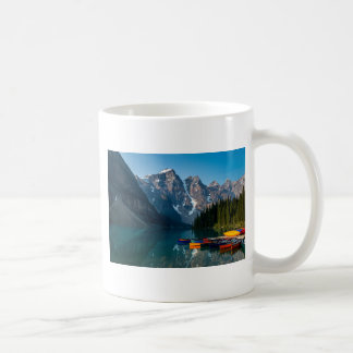 Louise lake in Banff national park Alberta, Canada Coffee Mug
