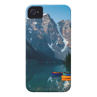Louise lake in Banff national park Alberta, Canada iPhone 4 Cover