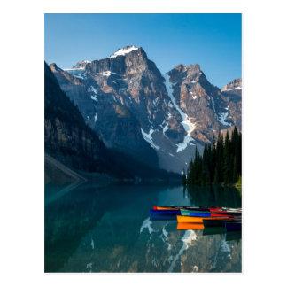 Louise lake in Banff national park Alberta, Canada Postcard
