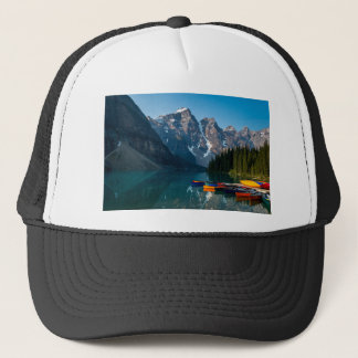 Louise lake in Banff national park Alberta, Canada Trucker Hat