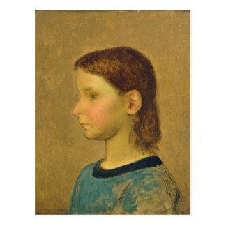 Louise Millet, c.1863 Postcard