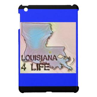 """Louisiana 4 Life"" State Map Pride Design Cover For The iPad Mini"