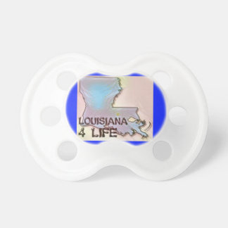 """Louisiana 4 Life"" State Map Pride Design Dummy"