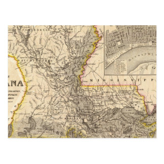 Louisiana 5 postcard