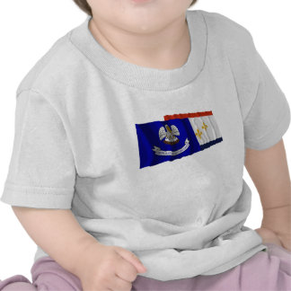 Louisiana and New Orleans Flags Tshirts