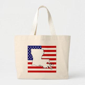 Louisiana Canvas Bags