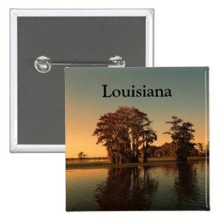 Louisiana bayou 15 cm square badge