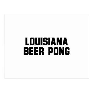 Louisiana Beer Pong Post Card