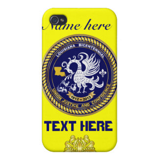 Louisiana Bicentennial 50 Colors Please View Hints iPhone 4 Cover
