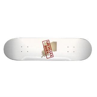 Louisiana Born - Stamp on Map Skateboards