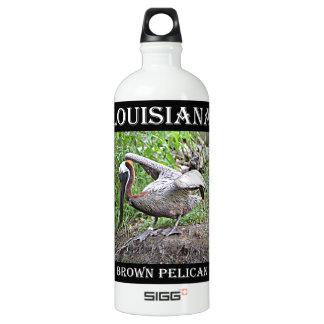 Louisiana Brown Pelican Water Bottle