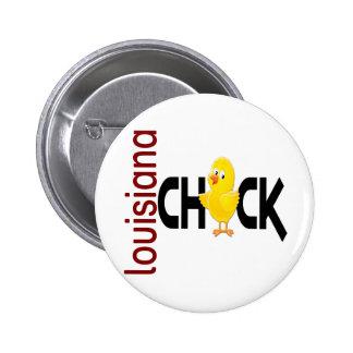Louisiana Chick 1 Pinback Button