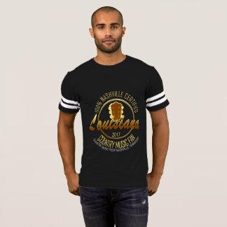 Louisiana Country Music Fan Men's Football T-Shirt